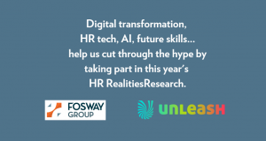 HR Realities Research 2018-19 UNLEASH Fosway Group