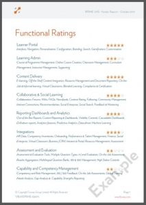 Fosway Vendor Reports Functionality Ratings Image
