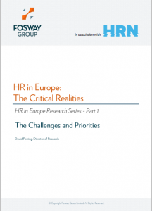 HR Critical Realities Cover