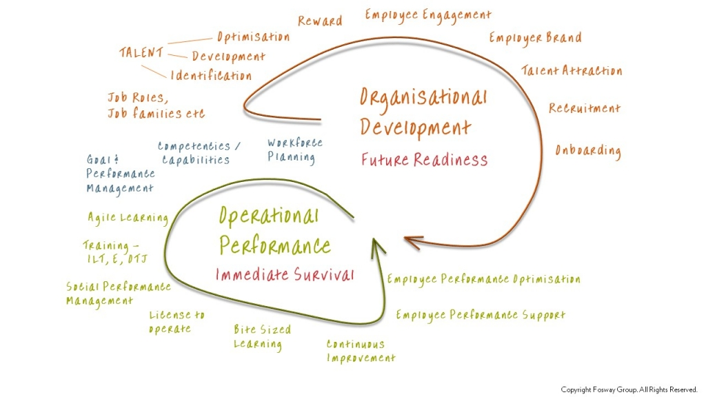 Fosway Organisational Development Model Diagram