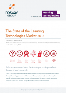Learning Technologies Trends 2016 Cover