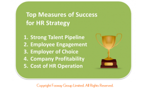 HR Critical Realities 2015_Fosway HR Strategic success measures