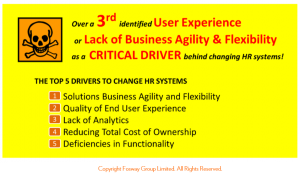HR Critical Realities 2015_Fosway drivers for HR systems change