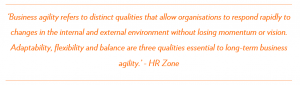 HR Zone Business Agility Definition
