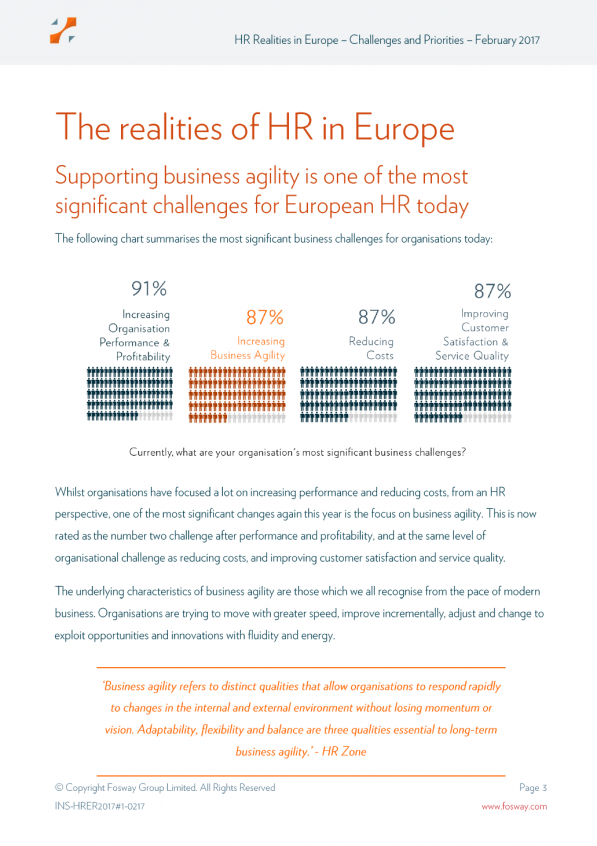 HR Realities in Europe: Challenges and Priorities