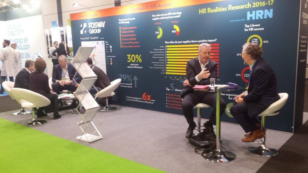 Fosway Europe's number 1 analyst at HR Tech London 2017
