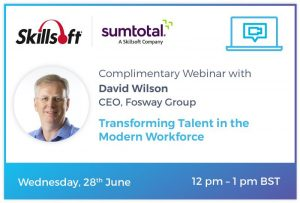 Fosway Skillsoft SumTotal webinar June 2017