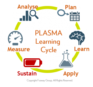 Fosway PLASMA Learning Cycle_SUSTAIN