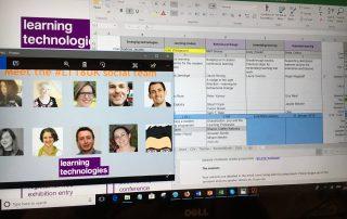 Learning Technologies 2018 Backchannel