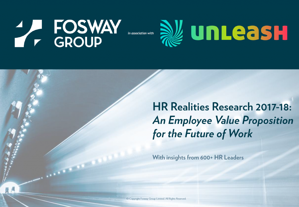 HR Realities 2017-18: An Employee Value Proposition for the Future of Work