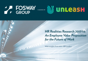 Fosway and UNLEASH HR Realities 2018 Research_EVP