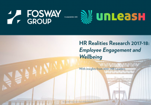 HR Realities Research 2018 Employee Engagement and Wellbeing Front Cover