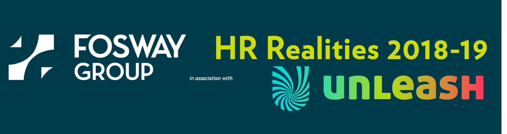 Fosway UNLEASH HR Realities 2018-19 Web banner
