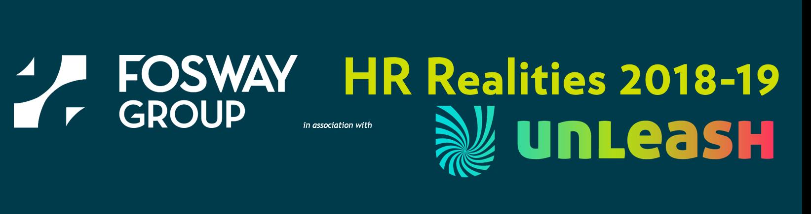 Fosway UNLEASH HR Realities 2018-19 Web banner