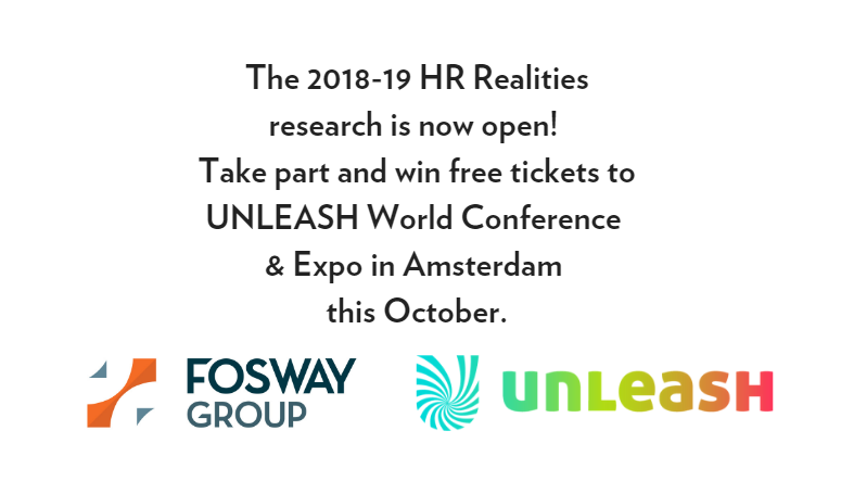 Fosway UNLEASH HR Realities 2018-19 Research Launch