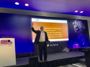 David Perring Fosway Learning Technologies Summer Forum 2019