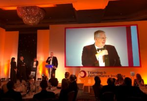 Fosway CEO David Wilson 2020 Learning Awards Colin Corder