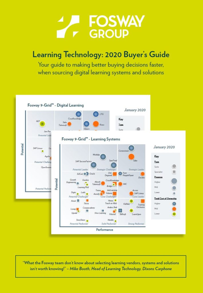 Fosway LT Buyers Guide 2020 Front Cover